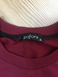 Bordo Bershka Sweatshirt 1