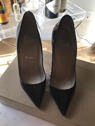 Siyah Christian Louboutin Stiletto 4