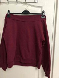 Bordo H&M Sweatshirt 0
