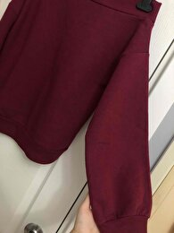 Bordo H&M Sweatshirt 3