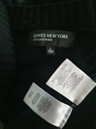 Siyah Jones New York Hırka 4