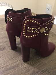 Bordo Tory Burch Bot 1