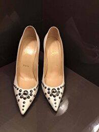 Beyaz Christian Louboutin Stiletto 0