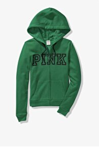 Yeşil Victoria's Secret Sweatshirt 1