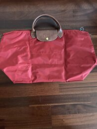 Bordo Longchamp Tote 1