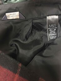 Bordo Marks & Spencer Mini Etek 3