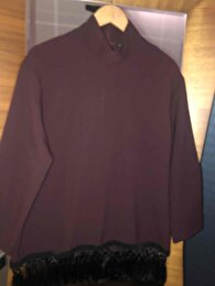 Bordo Zara Bluz 0
