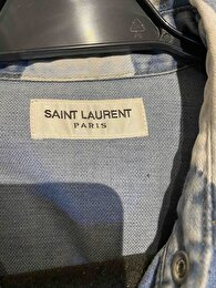 Lacivert Saint Laurent Gömlek 1