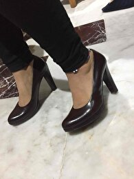 Bordo Nine West Stiletto 1