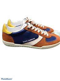 Camel Dolce & Gabbana Sneakers 0