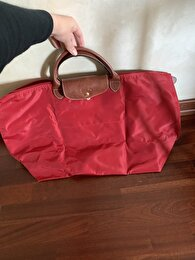Bordo Longchamp Tote 0