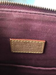 Bordo Louis Vuitton Kol Çantası 5