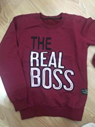 Bordo Bershka Sweatshirt 0