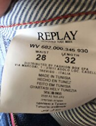Mavi Replay Skinny & Super Skinny Jean 2