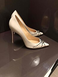Beyaz Christian Louboutin Stiletto 2
