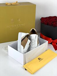 Beyaz Burberry Sneakers 6