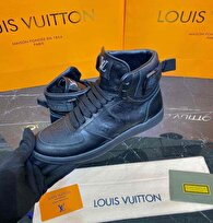 Beyaz Louis Vuitton Bot 7