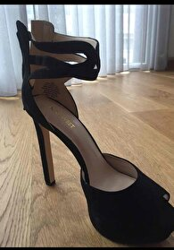 Siyah Nine West Stiletto 0