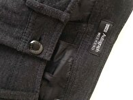 Gri Marks & Spencer Skinny Pantolon 2