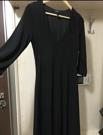 Siyah Forever 21 Maxi Elbise 300 TL 2