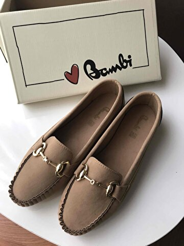 Camel Bambi Loafer