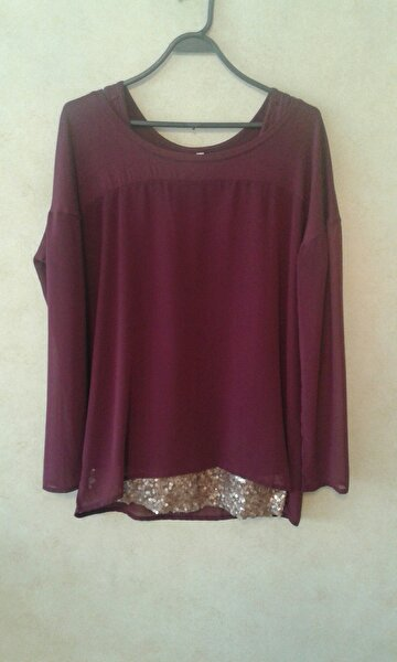 Bordo Twist Tunik