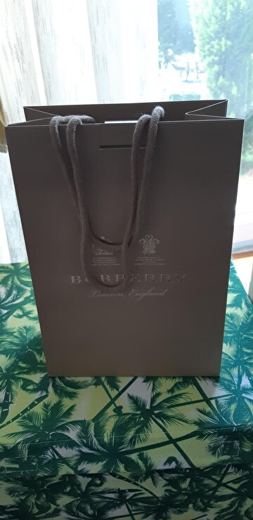 Camel Burberry Tote