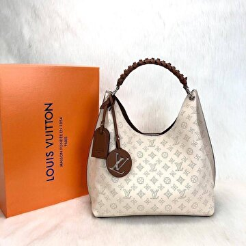 Krem Louis Vuitton Kol Çantası