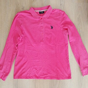 Pembe US Polo Sweatshirt