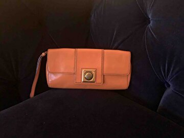 Turuncu Banana Republic Clutch/Portföy