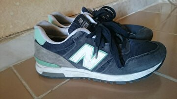 Lacivert New Balance Sneakers 144 TL 0