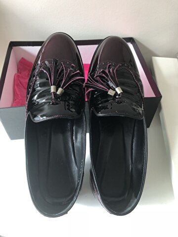 Bordo Hotiç Loafer