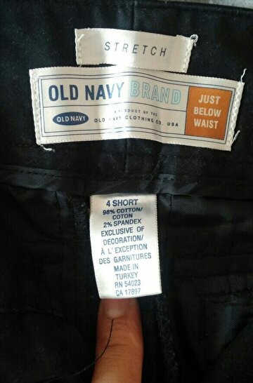 Old Cotton Cargo Kumaş Pantolon
