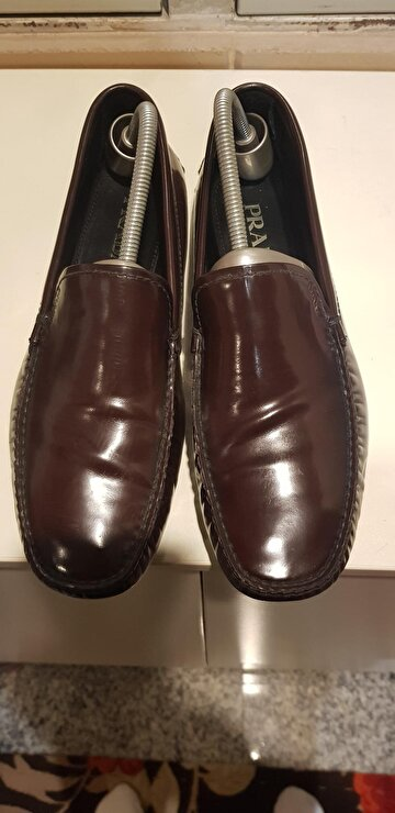 Bordo Prada Loafer