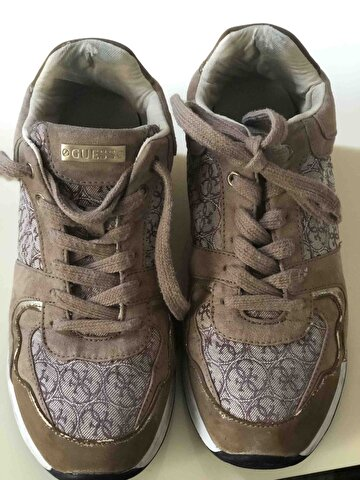 Camel Guess Sneakers