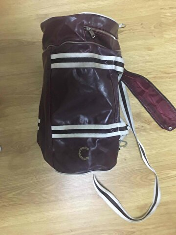 Bordo Fred Perry Bavul & Valiz