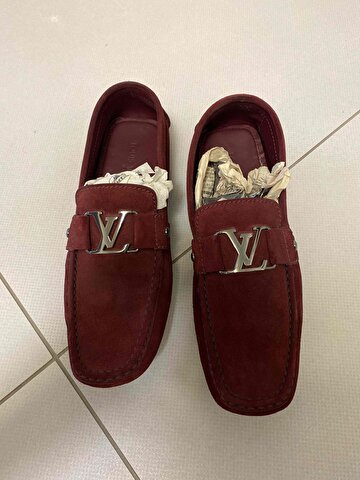 Bordo Louis Vuitton Loafer