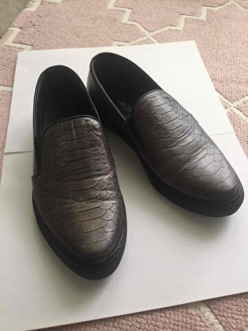 Gri Hotiç Loafer
