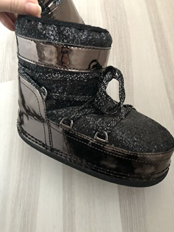 Metalik Moon Boot Bot 250 TL 2