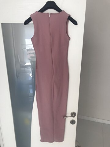 Pembe Missguided Maxi Elbise 60 TL 2