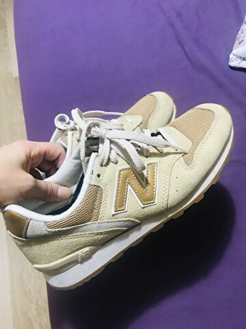 Camel New Balance Sneakers