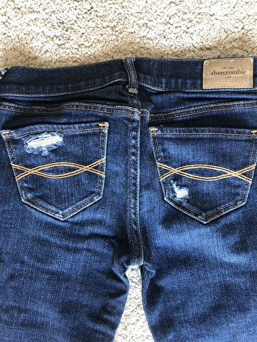Lacivert Abercrombie & Fitch Skinny 85 TL 3