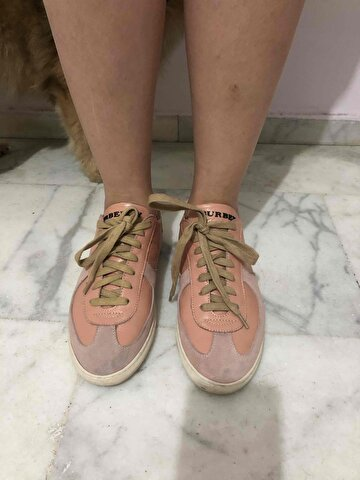 Pudra Burberry Sneakers