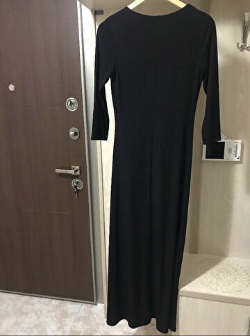 Siyah Forever 21 Maxi Elbise 300 TL 4