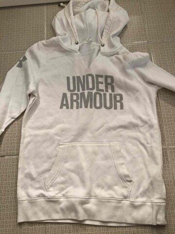 Beyaz Under Armour Sweatshirt