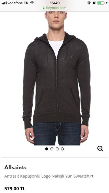 Gri All Saints Sweatshirt