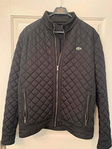 Siyah Lacoste Mont