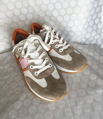 Camel Tory Burch Sneakers