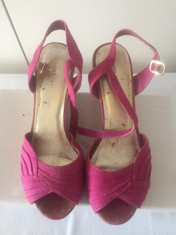 Pembe Nine West Platform