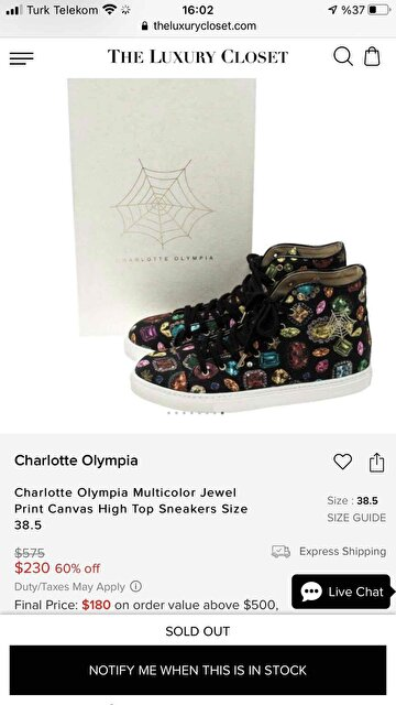 Diğer Charlotte Olympia Sneakers